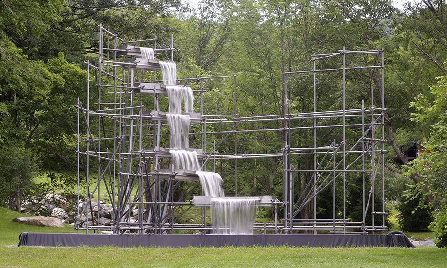 Outdoor Sculpture Exhibitions Hall Art Foundation