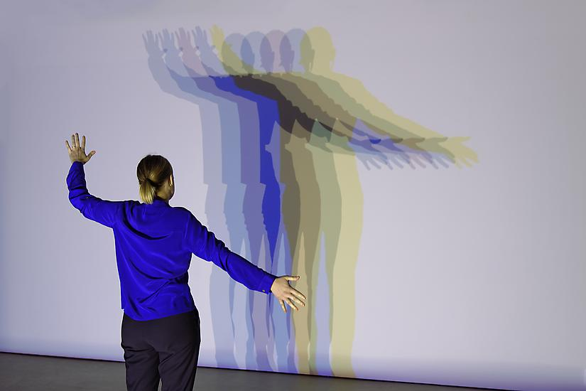 Olafur Eliasson's Your Uncertain Shadow